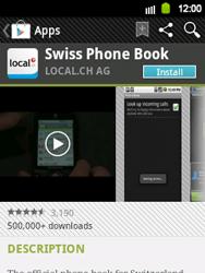 Samsung Galaxy Y - Applications - Installing applications - Step 7