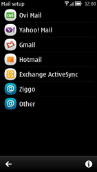 Nokia 700 - Email - Manual configuration POP3 with SMTP verification - Step 5