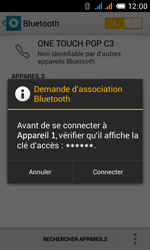 Alcatel One Touch Pop C3 - Bluetooth - Jumelage d