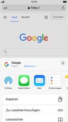 Apple iPhone 7 - iOS 14 - Internet und Datenroaming - Verwenden des Internets - Schritt 17