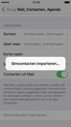 Apple iPhone 5c met iOS 9 (Model A1507) - Contacten en data - Contacten kopiëren van SIM naar toestel - Stap 5