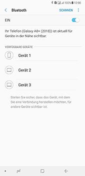 Samsung Galaxy A8 Plus (2018) - Bluetooth - Geräte koppeln - Schritt 9