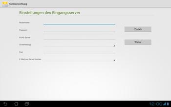 Asus Padfone - E-Mail - Konto einrichten - Schritt 13