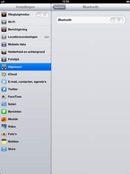 Apple The New iPad - Bluetooth - Aanzetten - Stap 4