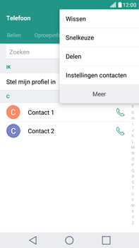 LG K520 Stylus 2 DAB+ - Contacten en data - Contacten overzetten via Bluetooth - Stap 5