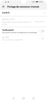 Huawei Y6 (2019) - Internet et connexion - Partager votre connexion en Wi-Fi - Étape 5