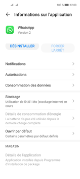 Huawei P40 Lite 5G - Applications - Supprimer une application - Étape 6
