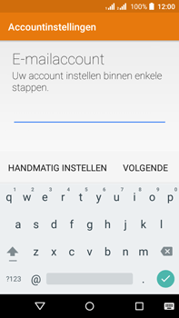 Acer Liquid Z630 - E-mail - e-mail instellen (yahoo) - Stap 6