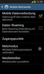 Samsung Galaxy Trend Plus - Netzwerk - Netzwerkeinstellungen ändern - 6 / 8