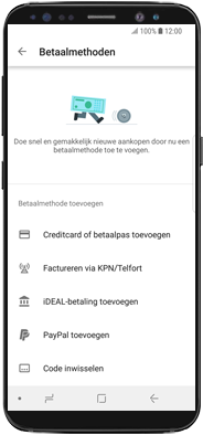 Samsung galaxy-note-10-dual-sim-sm-n970f - Applicaties - Aankopen doen in de Google Play Store met je KPN abonnement - Stap 6