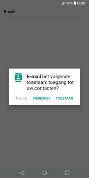 LG V30 (H930) - E-mail - Account instellen (POP3 zonder SMTP-verificatie) - Stap 21