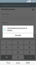 LG G3 - E-mail - configurazione manuale - Fase 15