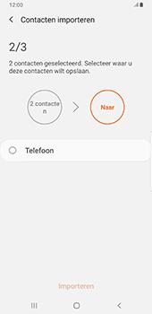 Samsung galaxy-note-9-sm-n960f-android-pie - Contacten en data - Contacten kopiëren van SIM naar toestel - Stap 11