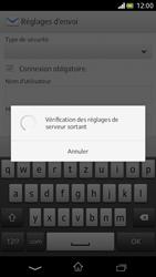 Sony Xperia V - E-mail - Configuration manuelle - Étape 13