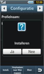 Samsung S8000 Jet - internet - automatisch instellen - stap 5