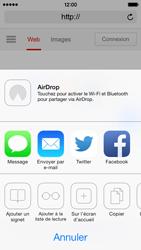 Apple iPhone 5c - Internet - navigation sur Internet - Étape 5