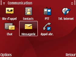 Nokia E63 - E-mail - Envoi d