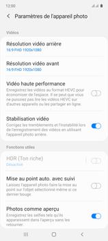 Samsung Galaxy Note 10 Lite - Photos, vidéos, musique - Créer une vidéo - Étape 8