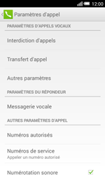 Alcatel Pop S3 (OT-5050X) - Messagerie vocale - Configuration manuelle - Étape 6