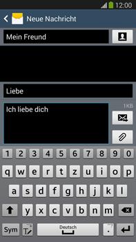 Samsung Galaxy Note 3 LTE - MMS - Erstellen und senden - 15 / 24