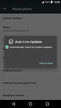 Acer Liquid Zest 4G Plus - Device - Software update - Step 7