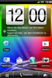 HTC A510e Wildfire S - SMS - Manuelle Konfiguration - Schritt 1