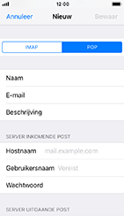 Apple iphone-5s-ios-12 - E-mail - Account instellen (POP3 met SMTP-verificatie) - Stap 11