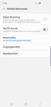 Samsung Galaxy S10 - Netzwerk - So aktivieren Sie eine 4G-Verbindung - Schritt 8