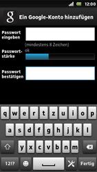 Sony Xperia U - Apps - Konto anlegen und einrichten - Schritt 10