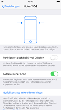 Apple iPhone 6 Plus - iOS 11 - Notfall – SOS - 5 / 7