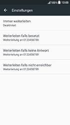 HTC One A9s - Anrufe - Rufumleitungen setzen und löschen - Schritt 6