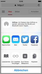 Apple iPhone 5c - iOS 8 - Internet und Datenroaming - Verwenden des Internets - Schritt 17