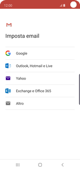 Samsung Galaxy S10e - E-mail - 032a. Email wizard - Gmail - Fase 8