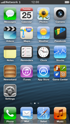 Apple iPhone 5 - Network - Manual network selection - Step 9