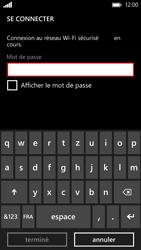 HTC Windows Phone 8X - WiFi - Configuration du WiFi - Étape 7