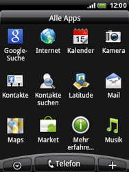 HTC Wildfire - E-Mail - Konto einrichten - 1 / 1