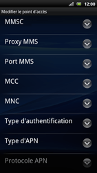 Sony Ericsson Xperia Arc S - MMS - configuration manuelle - Étape 13