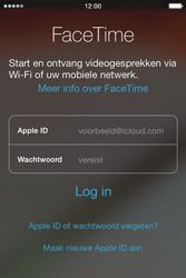 Apple iPhone 4S met iOS 5 (Model A1387) - Applicaties - FaceTime gebruiken - Stap 4