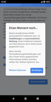 Sony Xperia XZ2 - Android Pie - Apps - Konto anlegen und einrichten - Schritt 18