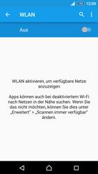 Sony E6553 Xperia Z3+ - WLAN - Manuelle Konfiguration - Schritt 5