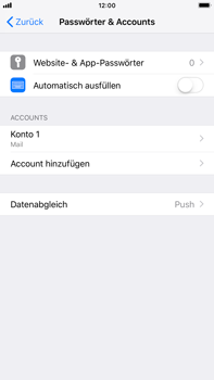 Apple iPhone 7 Plus - E-Mail - Konto einrichten - 28 / 30