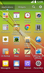 LG F70 - Internet et connexion - Partager votre connexion en Wi-Fi - Étape 3
