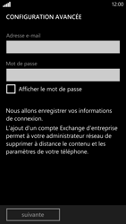 HTC Windows Phone 8X - E-mail - Configuration manuelle - Étape 7