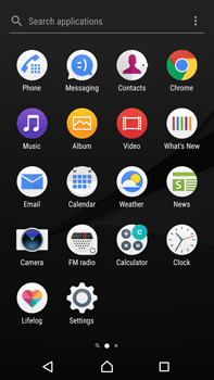 Sony Xperia Z5 Premium (E6853) - Android Nougat - MMS - Sending pictures - Step 2