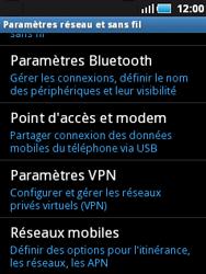 Samsung S5570 Galaxy Mini - Internet - activer ou désactiver - Étape 5