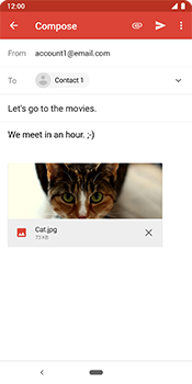 Google Pixel 3 - Email - Sending an email message - Step 15
