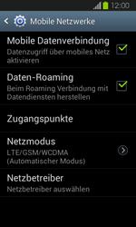 Samsung Galaxy Express - Internet und Datenroaming - Deaktivieren von Datenroaming - Schritt 6