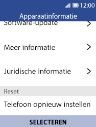 Nokia 8110 - Toestel reset - terugzetten naar fabrieksinstellingen - Stap 6