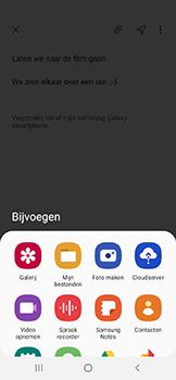 Samsung Galaxy A20e - E-mail - e-mail versturen - Stap 11