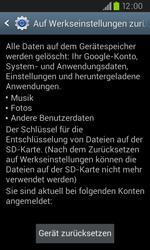 Samsung Galaxy S2 Plus - Fehlerbehebung - Handy zurücksetzen - 8 / 10